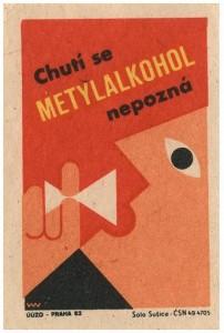Czechoslovakian matchbook