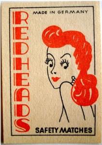 Redheads matchbox