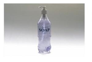 Handsoap in old Coke Soda bottle