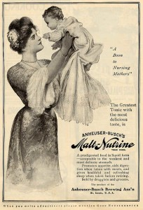"Malt Nutrine ""A boon to nursing mothers"""
