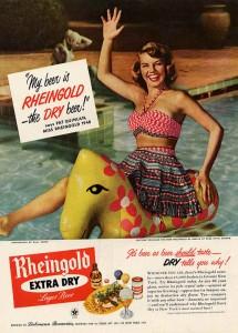 Rheingold 1948 Ad