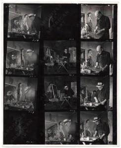 Kerkam in studio 1950.