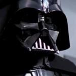 Close up of Darth Vader