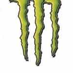 Monster Energy logo green letter M