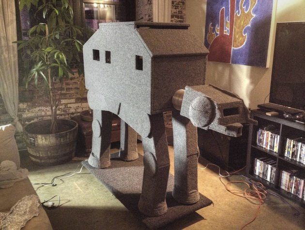 Cat-At cat house