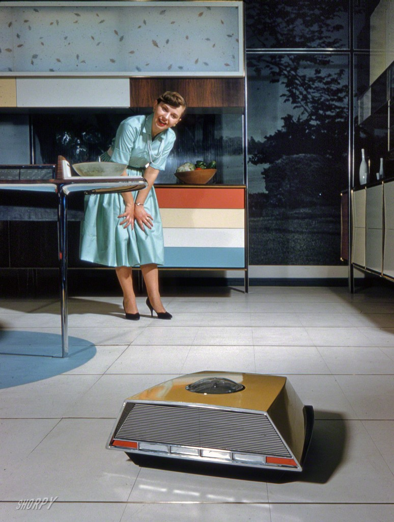 Robot Vaccum Whirlpool Miracle Kitchen of the Future 1959