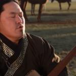 Tuvan man throat singing