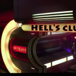Front entrance of Hell's Club
